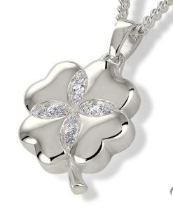 Zilveren ashanger