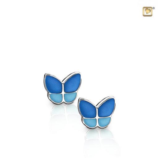 Treasure oorbellen vlinder