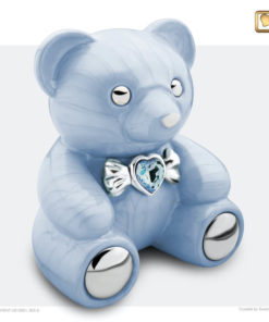 Kinder urn beer blauw C1011