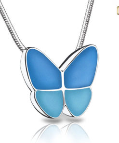 Ashanger met vlinder