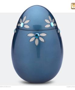 Premium Urn Nirvana blauw met Swarovski-elementen A271