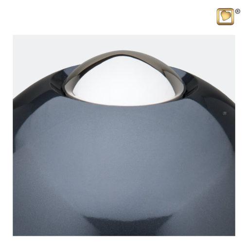 Premium urn Adore antraciet grijs A510 zoom