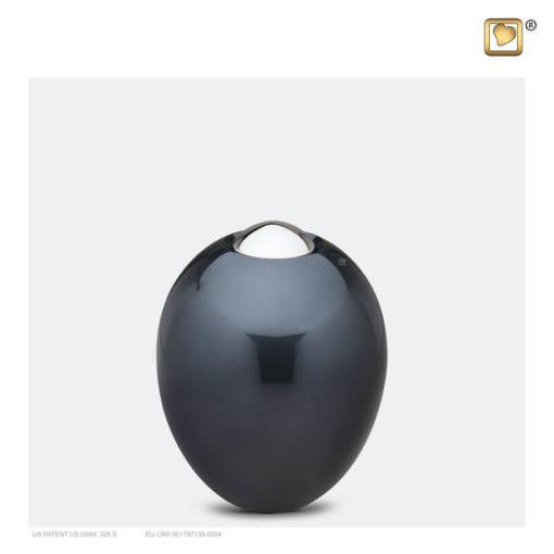 Premium urn Adore antraciet grijs K510