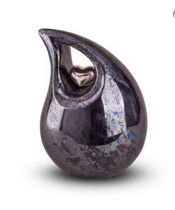 Keramische urn druppel