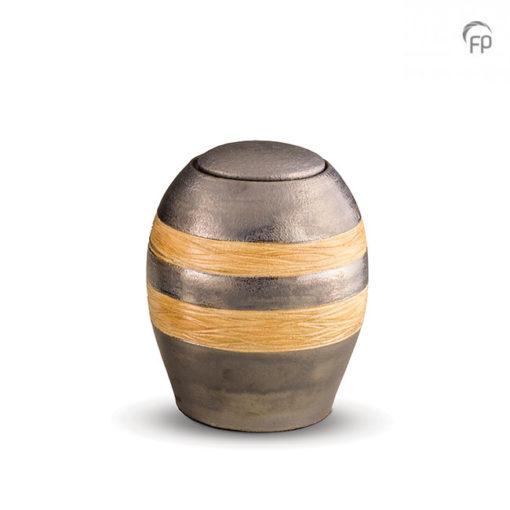 Keramische urn met banden