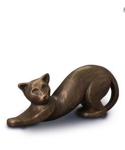 Klei urn dieren, kat