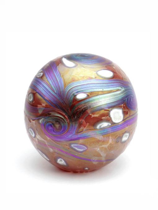 Glazen urn bol