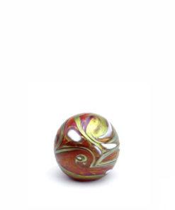 Glazen mini urn bol