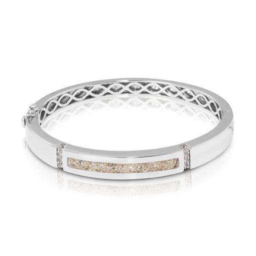 zilveren armband met as