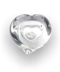 Glazen mini urn